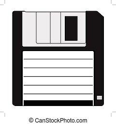 disquette, matériel informatique