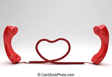 distância, longo, relacionamento