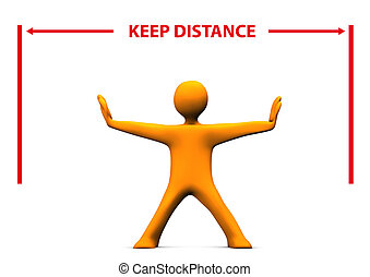distance, homoncule, garder
