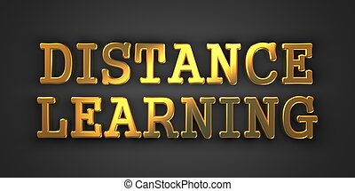 Distance Learning.  Business Concept.