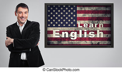 distance Learning english concept