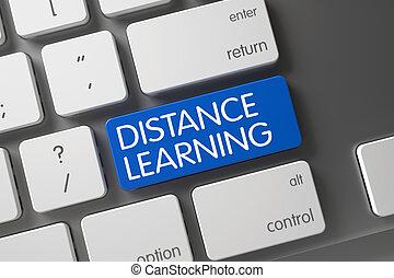 Distance Learning Key. 3D Render.