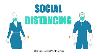 distancing, 社会