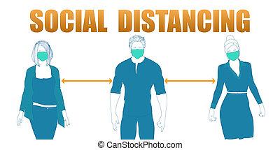 distancing, sociaal