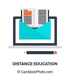 distanza, educazione