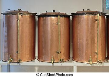distillatore, antico, fragonard, fabbrica, profumo, produzione, grasse, francia