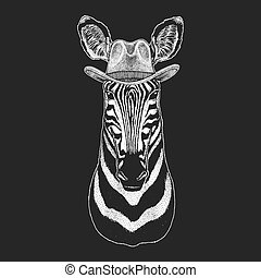 distintivo, bambini, cowboy, immagine, west., rodeo., emblema, tradizionale, selvatico, americano, t-shirt., horse., texas, patch., hat., stampa, bambini, zebra, logotipo