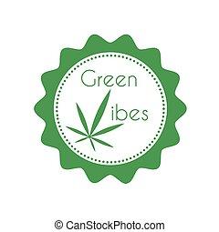 distintivo, marijuana