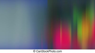 distorted and blurred motion of multicolored bright lights.