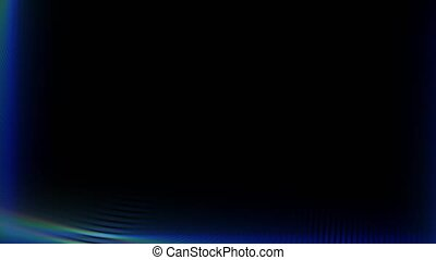 Distorted background lens. 4K motion graphics