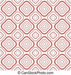 Distorted diamond shaped geometric elements seamless pattern