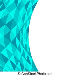 Distorted geometric shapes on a white background.