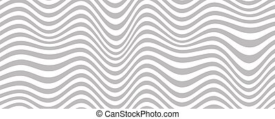 Distorted line background. Opt illusion pattern. Optical illusion of wide print. Vector illustration