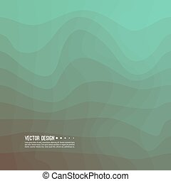 Distorted wave colorful texture. Abstract dynamical rippled...