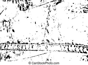 Distress peeled scratched paint overlay texture for your design. EPS10 vector.