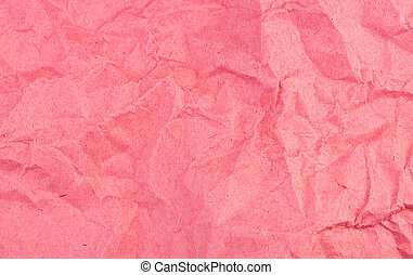 Distressed and weathered red paper background texture