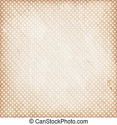 Distressed background with dots