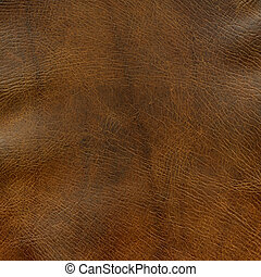 distressed brown leather texture