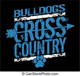 bulldogs cross country