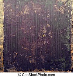 Distressed grunge texture, damaged vintage background with different color patterns: yellow (beige); brown; purple (violet); black; gray