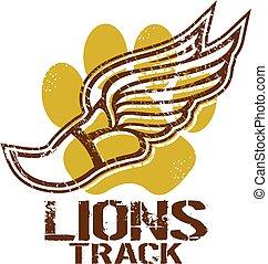 lions track
