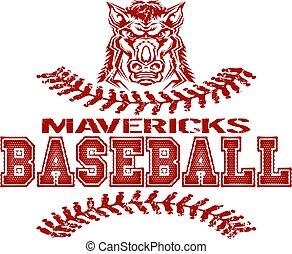 mavericks baseball - distressed mavericks baseball team ...