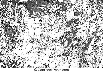 Distressed paint contrast black and white grunge texture