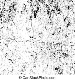 Distressed Cracked Plaster Overlay Texture. EPS10 vector.