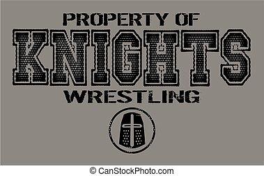 knights wrestling
