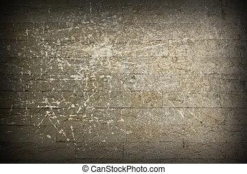 distressed stone masonry wall