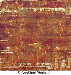 Distressed texture with ragged grunge overlay. Wrinkled background or backdrop with different color patterns: yellow (beige); brown; red (orange); purple (violet); pink
