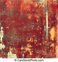 Distressed texture with ragged grunge overlay. Wrinkled background or backdrop with different color patterns: yellow (beige); brown; red (orange); pink; gray
