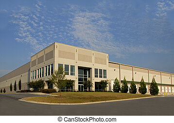 A new commercial distribution center for lease