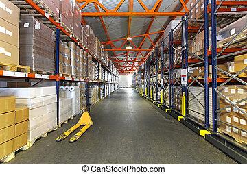 distribution, centre