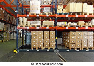 Distribution centre - Distribution warehouse with mobile...