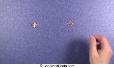 distribution, pièces, euro