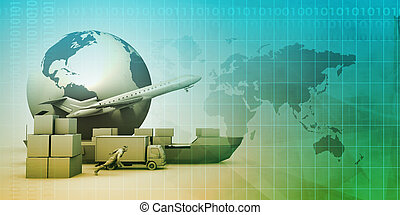 distribution, réseau global