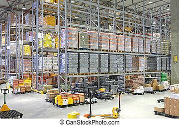 Distribution Warehouse - Big Distribution Center Warehouse...