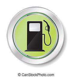 distributore di benzina, icona