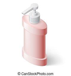 distributore, sapone, liquido