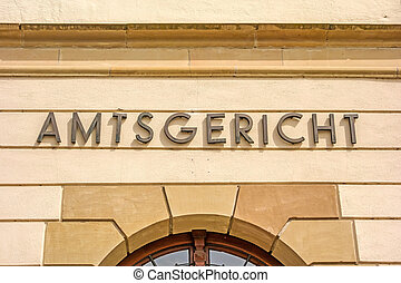 District court / Amtsgericht - District court (Amtsgericht)...