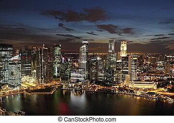 district., geschaeftswelt, stadtzentrum, singaporeat, ...
