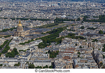district Invalides in Paris