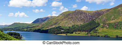 district lac, panorama, buttermere