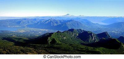 distrito de lago, en, chile