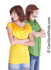 distrust in relationship - distrust between man and woman in...