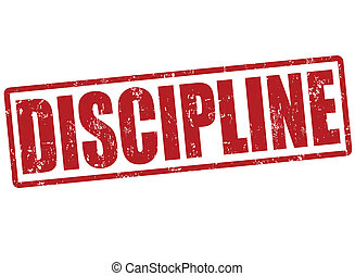 disziplin, briefmarke