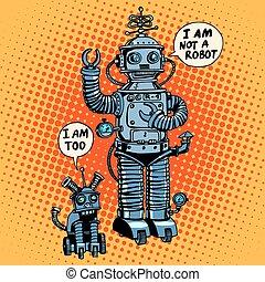 dit, science, robot, chien, avenir, pas, fiction