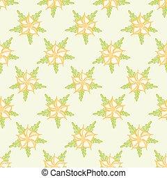 Ditsy Flower Seamless Vector Pattern