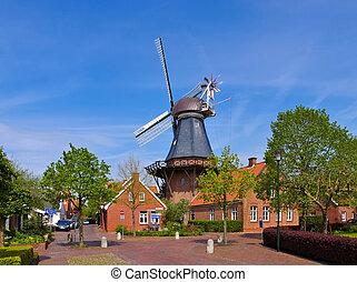 Ditzum Windmuehle - windmill Ditzum 01